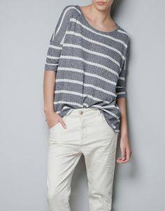 FINE KNIT SWEATER - Knitwear - TRF - ZARA United States