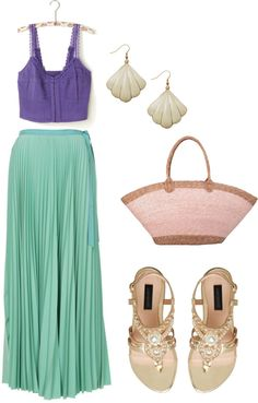 """little mermaid"" by molly-jo on Polyvore"