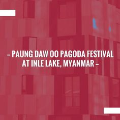 Hoping you'll love this post... Paung Daw Oo Pagoda Festival at Inle Lake, Myanmar https://www.thetravelblogs.com/paung-daw-oo-festival-inle-lake-myanmar/?utm_campaign=crowdfire&utm_content=crowdfire&utm_medium=social&utm_source=pinterest