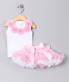 $24.99 ~  Pink Tank & Reversible Pettiskirt  ~ Girls~ by Hair Bows Unlimited ~ Reg. $50.00!