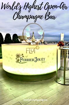 Flute at lebua is the world's highest open-air Champagne Bar. Read about it here! #bangkok #bangkoktravel #champagne #champgnebar #travel #rooftopbar #thailand #lebua #SimplyAmazingLiving