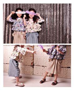 or select フリルガウチョパンツ | 韓国子供服とオリジナルリバティ雑貨 オルキデスール|orchidees soeurs