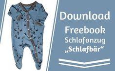 """Freebook Schlafanzug """"Schlafbär"""" – Kröhnchen Querbeet"""