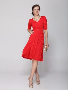 Red Dresses-Casual- Cocktail- Party &amp- Red Prom Dresses for Juniors ...
