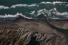 A #beach near #PalmerstonNorth City, #NZ viewed from above.  #Photograph by David Lupton. #aerial #blog