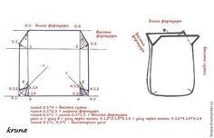 Особенности построения несложных лекал для сумок с фермуаром - Ярмарка Мастеров - ручная работа, handmade
