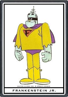 Hanna Barbera World: ENG - Frankenstein Jr