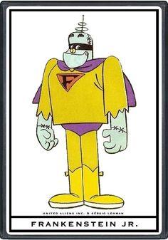 Hanna Barbera World: ENG - Frankenstein Jr