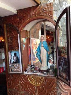 La Favela cafe in Seminyak, divine vintage