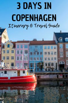3 Days in Copenhagen Itinerary: The Ultimate Travel Guide for Copenhagen, Denmark, TRAVEL, 3 Days in Copenhagen - Itinerary and Travel Guide. Backpacking Europe, Europe Travel Guide, Europe Destinations, Holiday Destinations, World Travel Guide, Traveling Europe, Budget Travel, Travel Guides, Travelling