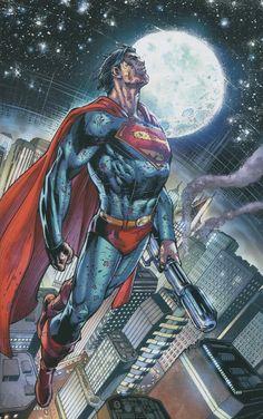 (Superman Earth One Cover) By: Ardian Syaf… Dc Comics Heroes, Dc Comics Characters, Dc Comics Art, Marvel Dc Comics, Superman Artwork, Superman Comic, Superman Stuff, Superman Logo, Comic Costume