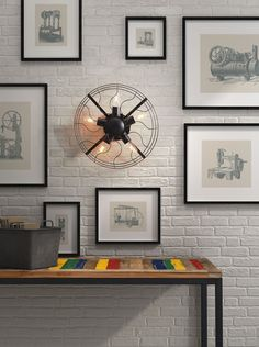 Zuo Simonite Wall Lamp Rust