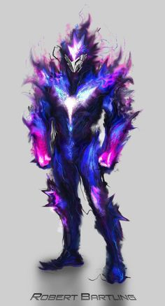 Hyper Dimensional Being by RobertDamnation on DeviantArt - Fantasy Monster Concept Art, Fantasy Monster, Monster Art, Fantasy Character Design, Character Design Inspiration, Character Art, Demon Art, Fantasy Armor, Dark Fantasy Art