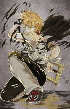Roxas, the first time I have EVER found a kingdom hearts art on Pinterest....somebody needs to get to work......