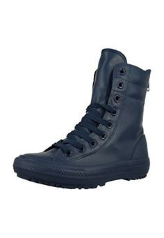 4f2c3a3b1cb1 Converse Womens Chuck Taylor All Star HiRise Boot Rubber 5 Nighttime Navy    You can find