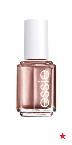 Add a little sparkle to your next mani with a metallic copper hue — essie penny talk nail polish