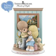 I See Our Love And Faith In Your Eyes Figurine
