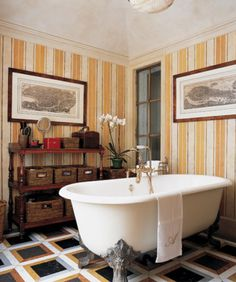 Quite like this for something different #bathroom #traditional #somethingdifferent