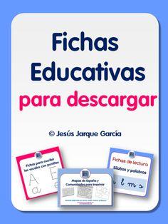 Página con fichas educativas para descargar de Jesús Jarque