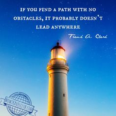 If you find a path w