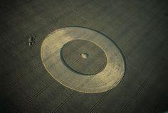 Crop circle, UK - Yann Arthus Bertrand