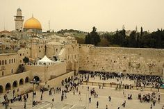 Wailing Wall, Jerusalem. Will probably never happen but it would be cool to see it