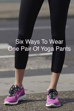 1 Basic Yoga Pant, 6 Stylish Ways | eBay Style Stories