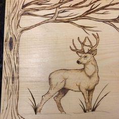 Wood Burning Stencils, Wood Burning Tool, Wood Burning Crafts, Wood Burning Patterns, Wood Crafts, Deer Stencil, Wood Burning Techniques, Wood Burn Designs, Pyrography Patterns