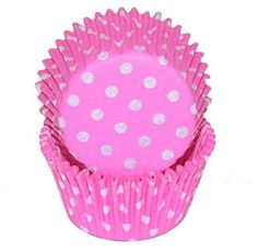 Oasis Supply Baking Cups Mini 100Count Pink Polka Dot -- Details can be found by clicking on the image.