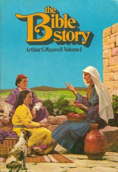 The Bible Story Books for School-age Kids by Arthur S. Maxwell - 10 Volume Set