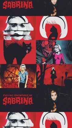 Series Movies, Tv Series, Betty & Veronica, Kiernan Shipka, Sabrina Spellman, Season Of The Witch, The Dark World, Fanart, Tumblr Wallpaper