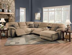 Gray Couches Jute Rug And Gray On Pinterest
