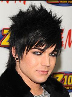 Adam Lambert Short Straight Alternative Hairstyle | Pinterest | Adam ...