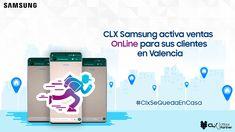 CLX Samsung activa ventas OnLine para sus clientes en Valencia #NasarDagga #CLX #Samsung #Venezuela #Tecnologia Valencia, Boarding Pass, Samsung, Travel, Venezuela, Tecnologia, Viajes, Destinations, Traveling