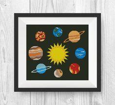 BUY 2, GET 1 FREE! Solar System Cross Stitch Pattern, pdf, Earth cross stitch…