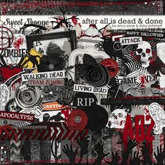 i heart team ZOMBIE!  After All Is Dead and Done -- by Libby Pritchett & Erica Zane