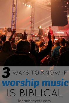 There are 3 ways we can determine if worship music in the church is biblical or not, and if it meets Jesus' command to worship Him in Spirit and in truth. Christian Music, Christian Women, Christian Living, Christian Faith, Christian Devotions, Walk By Faith, Christian Inspiration, Spiritual Growth, Bible Verses