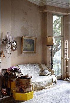 EN MI ESPACIO VITAL: Muebles Recuperados y Decoración Vintage: febrero 2011