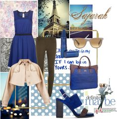 """Earth blue"" by inerufaidah on Polyvore"