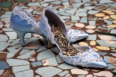 If I had another wedding, I'd seriously consider these.  They're called Cinderella for a reason!  From TheCrystalSlipper on Etsy.