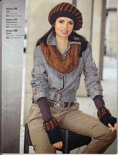 Laura Nº15 (Moda de Punto) Knit Fashion, Knitting Charts, Urban, Journals, Tejido, Dots