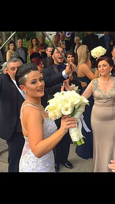 Bride with pixie cut!