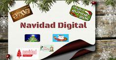 Para l@s usuari@s digitales que empiezan a vivir la Navidad como una época mágica...un artículo dedicado a los sitios y apllicaciones navideñas..