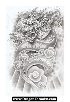 Japanese And Chinese Dragon Tattoos 08 - http://dragontattooist.com/japanese-and-chinese-dragon-tattoos-08/