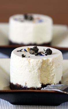 Chocolate Cake with Jasmine Cream