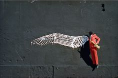 'Birdman' by Robin Rhode. For more, visit houseandleisure.co.za