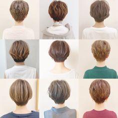 Korean Short Hair, Short Hair Cuts, Short Hair Styles, Tomboy Hairstyles, Pixie Hairstyles, Love Hair, My Hair, Short Hair Tomboy, Pelo Pixie