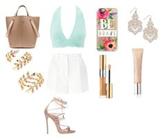 """""""First Summer Date"""" by norajox-kim ❤ liked on Polyvore featuring Charlotte Russe, Dolce&Gabbana, Casetify, Yves Saint Laurent, Mulberry, Forever 21, INC International Concepts, Christian Dior and Dsquared2"""