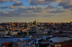 The Golden Horn (Halic) İstanbul Turkey Istanbul City, Istanbul Turkey, Golden Horn, Small Planet, Life Is An Adventure, Top Photo, Cityscapes, City Life, San Francisco Skyline
