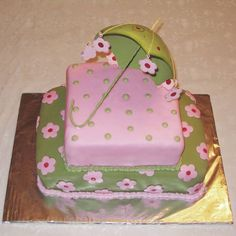Throwin' it WAY back....the baby this shower cake was for is 10 now!!! #timeflies #donteattheumbrella